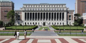how Columbia University looks like