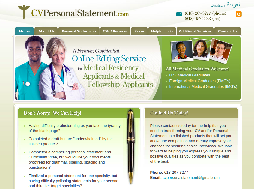 cvpersonalstatement.com review