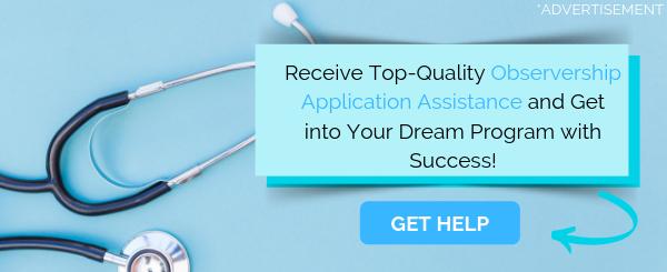 observership application help