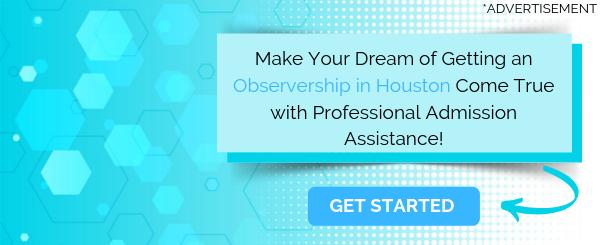observership in houston writing help